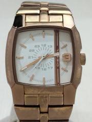 腕時計/アナログ/GLD/GLD
