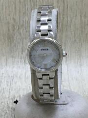 ウィッカ/クォーツ腕時計/デジアナ/ステンレス/SLV/SLV/6515088