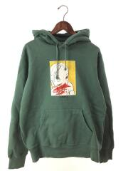 19AW/Nose Bleed Hooded Sweatshirt/パーカー/M/コットン/GRN