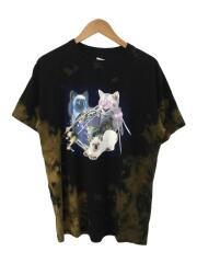 Tシャツ/1/ブラック/プリント/WE ARE X-CATS/エックスガール