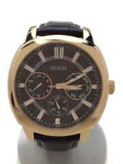 クォーツ腕時計/アナログ/レザー/BRW/BRW/W0660G1