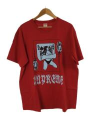 19AW/Queen Tee/Tシャツ/XL/コットン/RED