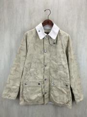 ジャケット/M/コットン/BEG/カモフラ
