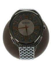 腕時計/アナログ/ステンレス/ゴールド/シルバー/CRYSTALLINE/箱・コマ付/5455108