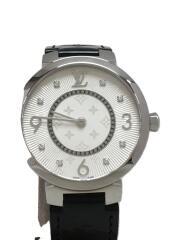 クォーツ腕時計/アナログ/エナメル/SLV