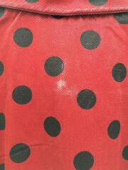 Polka Dots Rayon Work Jacket/ジャケット/M/レーヨン/RED/18SS