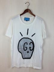 ゴーストライン/Tシャツ/432086-X3E88/S/コットン/WHT