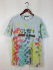 18SS/Tシャツ/469307-X9B89/L/コットン/マルチカラー