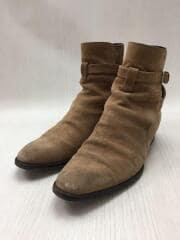Jodhpur boots/443200/ブーツ/41/BEG/スウェード
