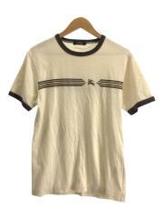 ダメージ加工半袖Tシャツ/2/コットン/IVO
