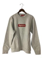 Boxlogo Crewneck Sweatshirt/ボックスロゴ スウェット/M/コットン/GRY