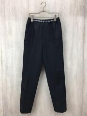 19AW/Active Pants/ウエストロゴ/ボトム/42/ポリエステル/BLK/1106