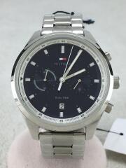 BENNETT/クォーツ腕時計/アナログ/ステンレス/NVY/SLV/1791725