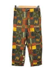 21SS/Drawstring pant African print/XXS/コットン/マルチカラー/総柄