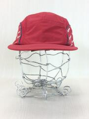18SS/Diagonal Logo Side Panel Camp Cap/キャップ/--/RED