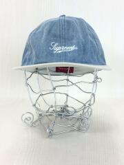 18SS/ed Denim Fitted 6-Panel Cap/キャップ/--/デニム/IDG