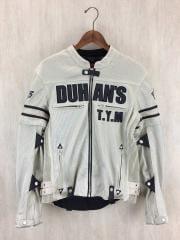 DUHAN(ドゥーハン)/バイクジャケット/XL/プロテクター付き/ライダージャケット