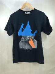 ucp3815/Tシャツ/2/2015年/コットン/ブラック/プリント半袖カットソー/アンダーカバー
