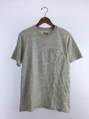 ポケットTシャツ/S/コットン/GRY