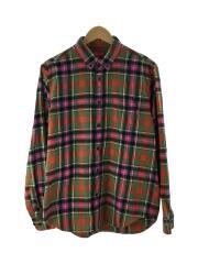 タグ付/Flannel Shirt/長袖シャツ/M/コットン/マルチカラー/チェック
