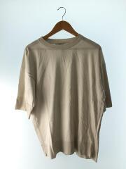 BLAMINK/カットソー/コットン/CRM/ラウンドネック/五分丈/袖リブ/裾リブ/セカスト