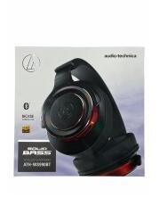 Bluetoothイヤホン・ヘッドホン SOLID BASS ATH-WS990BT BRD [ブラックレッド]