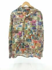 21SS/Money USA L/S Shirts/長袖シャツ/XL/コットン/マルチカラー