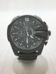 メガチーフ/クロノグラフ/DZ4283/クォーツ腕時計/アナログ/ステンレス/BLK/BLK