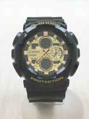 GA-140GB/クォーツ腕時計/デジアナ/GLD/BLK