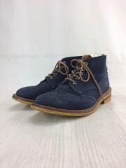 Tricker's/ブーツ/UK10.5/NVY/トリッカーズ