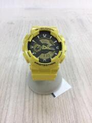 クォーツ腕時計・G-SHOCK/デジアナ/YLW