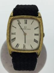 ユニバーサルジュネーブ/2.686.783/アナログ手巻腕時計/キャンバス/シルバー/ブラック
