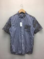半袖シャツ/M/ギンガムチェック/コットン/SOPH-160109