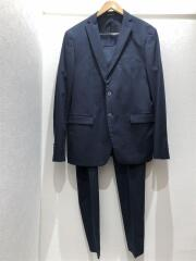 スーツ/--/コットン/NVY/無地/セットアップ