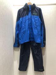 PM0003/セットアップ/S/ナイロン/BLU/ブルー/中古