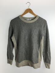 セーター(薄手)/ウール/グレー