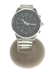 ソーラー腕時計/B642-S118280/アナログ/ステンレス/ネイビー/シルバー