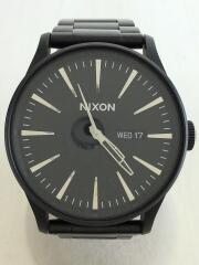 クォーツ腕時計/アナログ/--/BLK/BLK/THE SENTRY SS