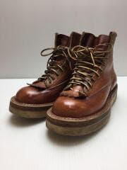 ブーツ/26cm/US8/ブラウン/レザー/350