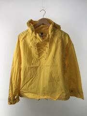 OVER DYED DECK HOODIE/1/コットン/YLW/無地/MB171-1016
