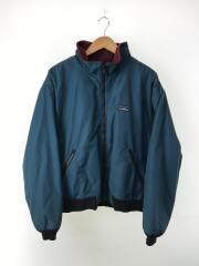Warm up jacket/80年代/山タグ/ナイロン/BLU/無地