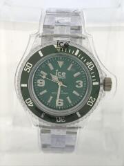 アイスピュア/クォーツ腕時計/アナログ/--/GRN/CLR/PU.FT.S.P12