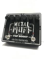 METAL MUFF WITH TOP BOOST METAL MUFF WITH TOP BOOST/メタルディストーション/DC9V-/BLK/本体のみ