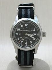 自動巻腕時計/アナログ/ナイロン/KHAKI FIELD カーキフィールドオート/ベゼルキズ有