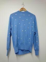 セーター(薄手)/36/レーヨン/BLU/無地/tp11-xn210/dot knit pullover/2