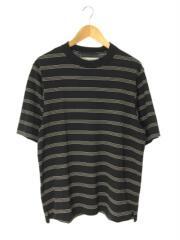Tシャツ/M/コットン/ブラック/ボーダー/CT-#645/ジョンメイソンスミス