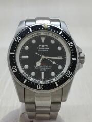 腕時計/アナログ/ステンレス/BLK/SLV/T2273