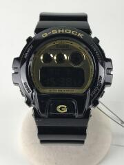 G-SHOCK/クォーツ腕時計/デジタル/GLD/BLK/DW-6900CB/Crazy Colors