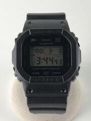 G-SHOCK/クォーツ腕時計/デジタル/ラバー/BLK/BLK/DW-5600VT