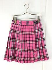 スカート/150cm/ウール/PNK/チェック